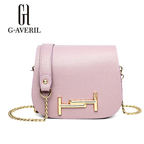 G-AVERIL, Borsa a mano donna Viola Purple Purple