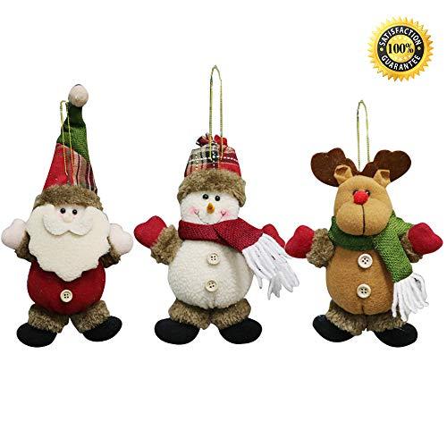 Morbuy Weihnachtsdekoration, Weihnachten Innen Außen Deko Hänger für Weihnachten Festen Hochzeit...