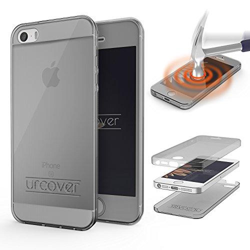 urcoverr-housse-coque-tactile-360-degres-edition-apple-iphone-se-5-5s-silicone-tpu-gris-transparent-