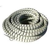Protège-câble spirale 1,5 mètres pour cacher et démêler les fils