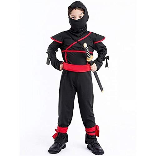 Kids Ninja Fancy Dress Costume- 5-6 ()