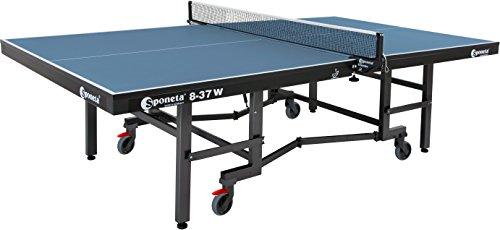 Sponeta S 8-37 w Indoor Tischtennisplatte 25 mm blau mit Netz