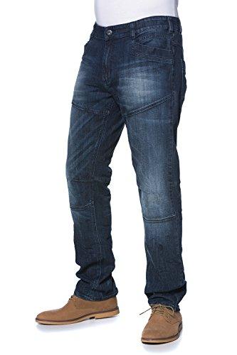 JP 1880 Homme Grandes tailles Jean 5 poches 697278 bleu foncé