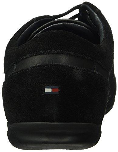 Tommy Hilfiger O2285tis 2c, Baskets Basses Homme Noir - Noir (990)