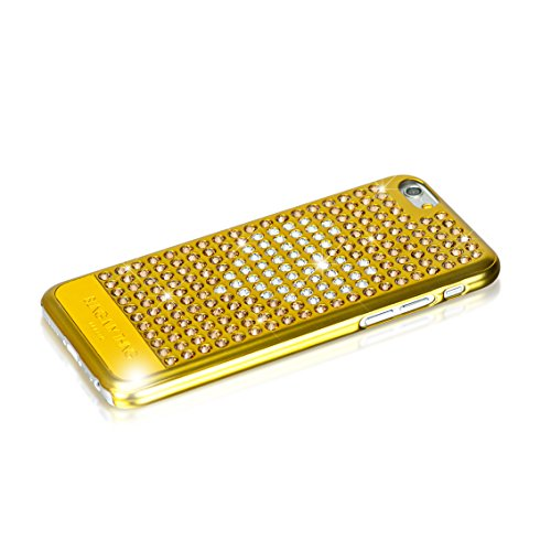 Bling My Thing extravanganza für iPhone 6 11,9 cm mit echten Swarovski Kristallen Gold Heart