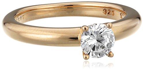 Esprit Jewels Damen-Ring 925 Sterling Silber grace rose Gr. 53 (16.9) ESRG91608C170