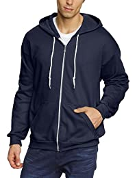 Anvil - Sweat-shirt à capuche Homme - Anvil Men's Full-Zip Hooded Fleece