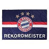 FC Bayern München Fahne Rekordmeister 100x150cm