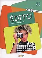 Edito niv .C1 (éd. 2018) - Livre +DVD-rom de Anouch Bourmayan