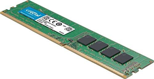 Crucial - Memoria RAM de 8 GB (DDR4, 2400 MHz, PC4-19200, dual rank, DIMM 288 pin)