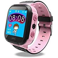 TrailO iSecureRely - Kids GPS Tracker SOS Smart Touch Screen Watch | Call Function, Remote Monitoring | 2G SIM Compatible | Kids Safety