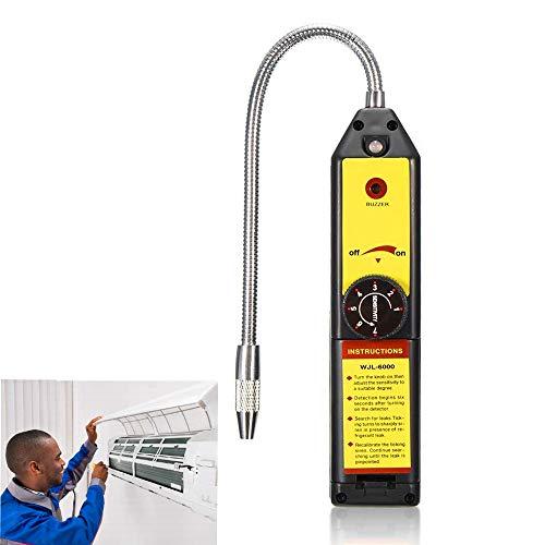 NOBGP Kältemittel Halogen Freon Lecksucher, Klimaanlage Kältemittel Leckage Checker Monitor Gasanalysator Detektor für Home R134a R410a R22a HFC CFC Gas HVAC -