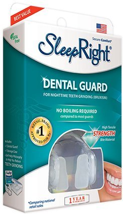 SleepRight Secure - Comfort Dental Guard For Night Time Teeth Grinding (Bruxism)