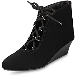 ANAND ARCHIES Women's Boots AA-181-BLACK-38