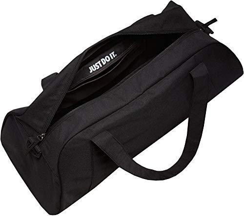 Nike Damen Gym Club Sporttasche, Schwarz/Weiß
