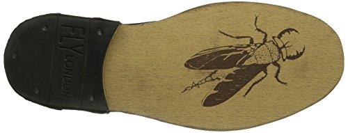 Fly London - Hans, Scarpe stringate basse derby Uomo Marrone (Braun (Dark Brown 001))