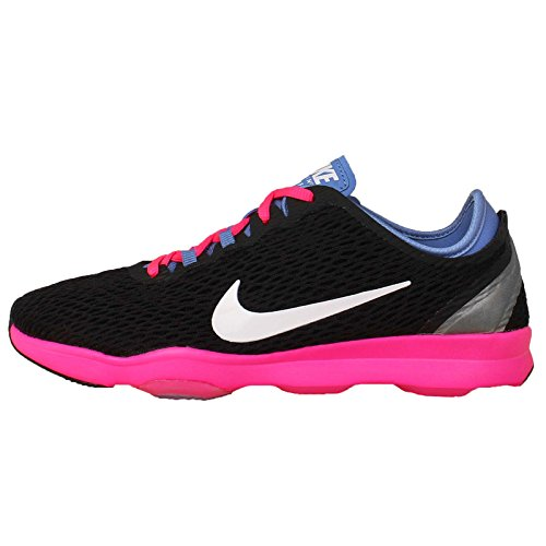 s Zoom Fit Training Sneaker Nero / Bianco-polare-Pink Pow scarpe Black