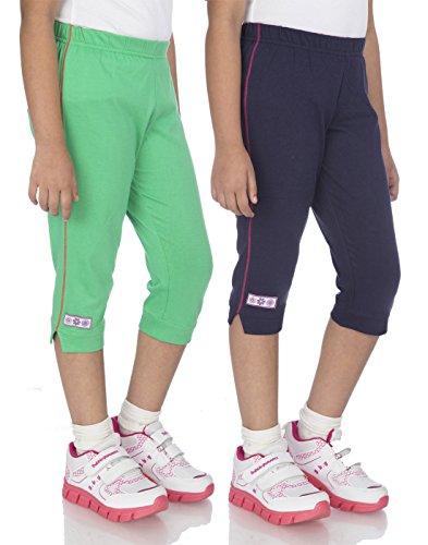 OCEAN RACE Women's Stylish attarctive colors Cotton Capris(3/4 th Pant)-Pack of 2-WOMEN-C-15162-2XL
