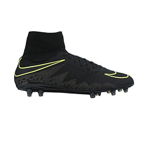Nike Herren Hypervenom Phatal Ii Df Fg Fußballschuhe Negro (black/black-mtlc hematite)