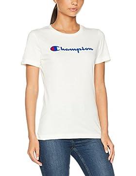 Champion Crewneck T-Shirt-Institutionals, Camiseta Para Mujer