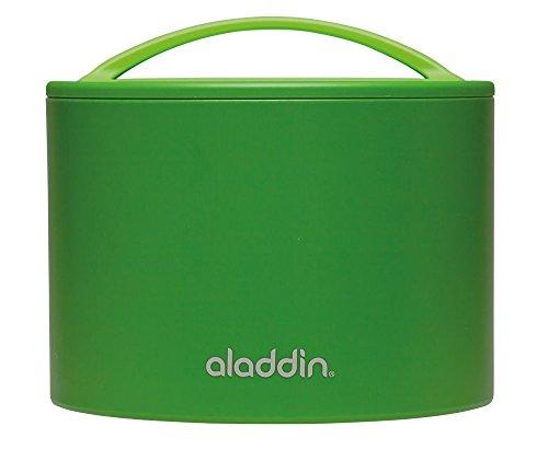 Aladdin 33949 Boîte à bento, 0, 6L, Lunch Box, plastique, vert, 15 x 12, 7 cm