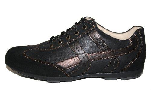 Juge-chaussures 81.3714, chaussures basses fille Noir - Schwarz (Schwarz/Kupfer)