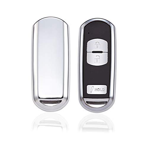 KAKTUS® Mazda Smart Key Protection Shell Autoschlüssel Schutzhülle (Keyless Go Version)