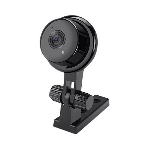 LOETAD IP Kamera 720P HD WIFI Audio Sicherheitskamera Baby Monitor mit SD Karte Bewegungserkennung mit Infrarot Nachtsicht (Security-kameras Mit Sd-karte)