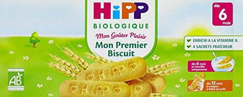 Hipp Biologique Mon Premier Biscuit dès 6 mois - 6 boîtes de 180 g