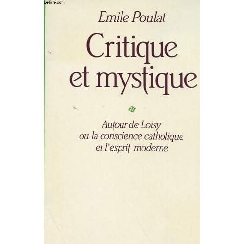 Critique et mystique