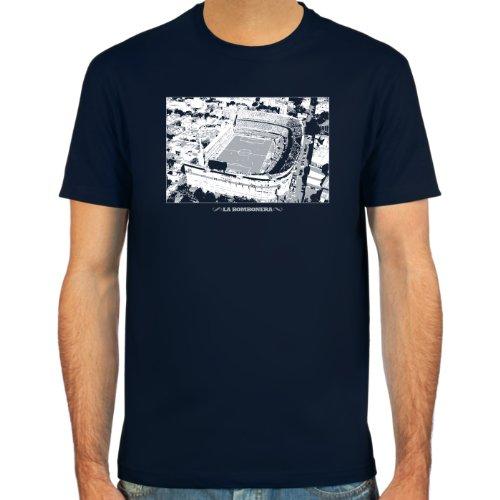 SpielRaum T-Shirt La Bombonera ::: Farbauswahl: deepred, schwarz, oliv oder navy ::: Größen: S-XXL ::: Fußball-Kult