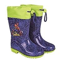 PERLETTI Spider-Man rain boots size 22-23