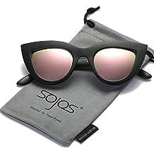 SOJOS Moda Clásico Celebridad Negrita Grueso Mujer Gafas de Sol Gato Gafas de Sol SJ2939