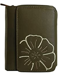 c8682094654a9 Suchergebnis auf Amazon.de für  Damen Leder Geldbörse grün - Nicht ...