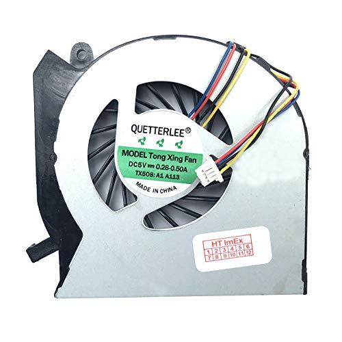 Lüfter/Kühler - Fan kompatibel für HP Pavilion DV6-7000, DV7-7000, M7-1000, DV6t-7000, DV7t-7000