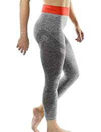 Yoga Leggings 3/4 Length Capri by Sundried Womens Gym Pants Fitness and Training
