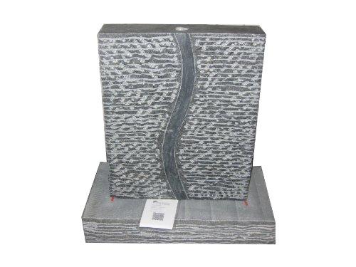 floristikvergleich.de Brunnen Wasserspiel Granit schwarz 10x40x60cm