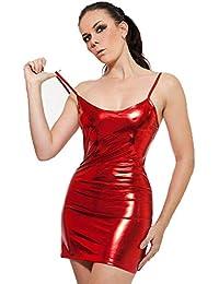 13c0e4f4a2 Amazon.es  Fetish - Rojo   Vestidos   Mujer  Ropa