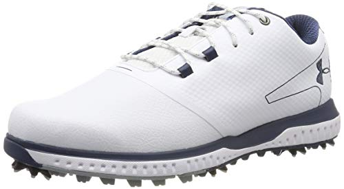 Under armour fade rst 2 e, scarpe da golf uomo, bianco (white/steel/academy 100), 41 eu