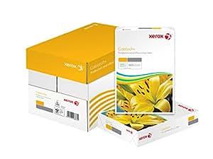 Xerox 003R94668 Paquet de 250 feuilles de papier Colotech pour photocopieurs couleur et imprimantes laser couleur et jet d'encre, format A4, 220 g/m² (Blanc)
