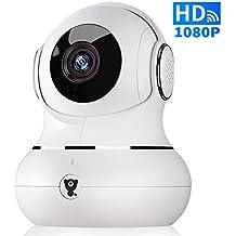 Cadrim Mini Kamera 720p Ip Funk Überwachungskamera Wlan Mit Babypflege Monitor Babyfone