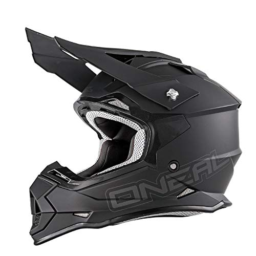 O'Neal 2 Series RL Motocross Enduro MTB Helm Flat schwarz 2018 Oneal: Größe: M (57-58cm)