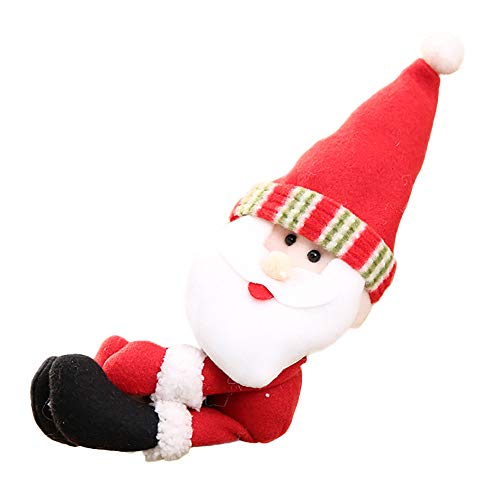 Selou Weihnachtsweinflaschenverschluss Kleidung Santa Claus-Schneemanntabellen-Flaschenverzierung Rote grüne Weinflaschenkapsel Weihnachtsbrauch deko weihnachtsbaum günstige christbaumkugeln kaufen