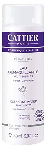 Cattier Eau Démaquillante Yeux Pétale d'Iris 150 ml