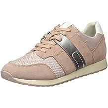 Geox D Deynna D, Zapatillas para Mujer, Rosa, 37 EU