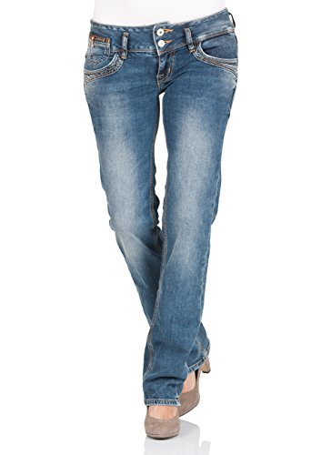 LTB Jeans Damen Straight Jeans Jonquil Jonquil Nuage Wash (5346-51069)