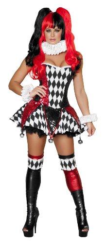 Women's Court Jester Cutie Fancy dress costume (Of Court Lady The Kostüm)