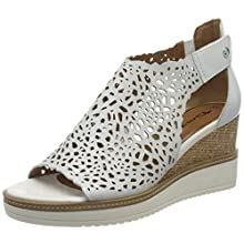 Tamaris 1-1-28316-24, Women's Ankle-Strap, White 100, 5 UK (38 EU)