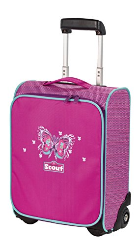 Scout Basic Kindertrolley II Koffer, 21 Liter, Violett