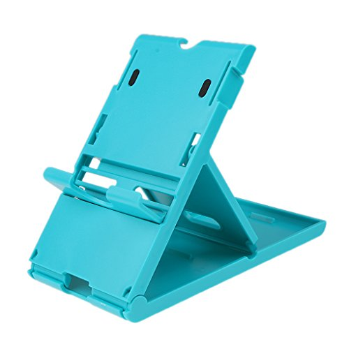 FNT Compact Playstand Fold Stand Holder For Nintendo Switch Game Console Blue